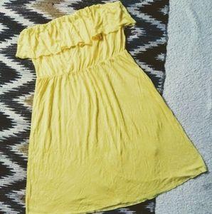 ☀Old Navy NWT Ruffle Strapless Mini Dress Sz L☀